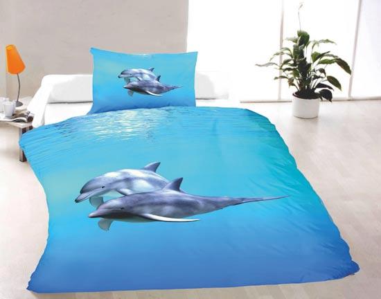 Delfíny - obliečky 1 + 1
