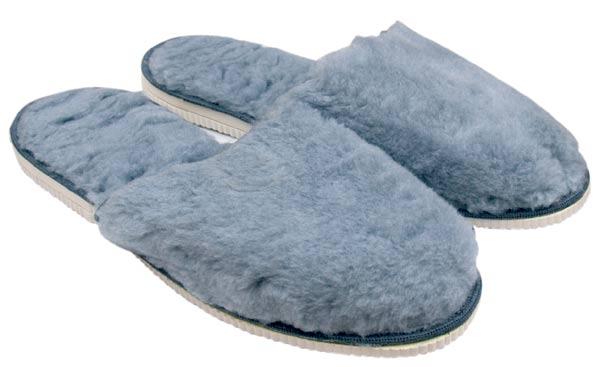 da5842824ecae Domáca obuv - pánske plyšové prezúvky, veľ. 44 - 45 | Papuče ...