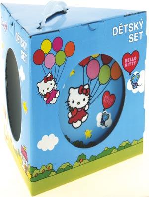 49fa1dad2 Detská súprava Hello Kitty 3 ks   Servírovanie   Fortel