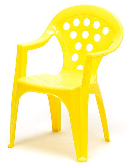 04f38fcde807a Detské kresielko stohovateľné Adodo 5002, žlté | Detské pieskoviská ...