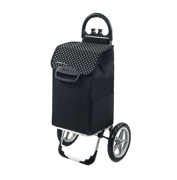 349a04548550b Veľká nákupná taška na veľkých kolieskach Berlino 78 l, čierna ...